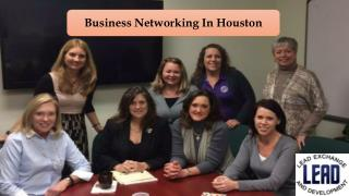 Business Networking In Houston
