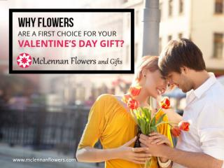 Flowers are the First Choice for Your Valentine's Day Gift - Why?