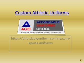 Custom Athletic Uniforms