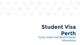 Student Visa Perth