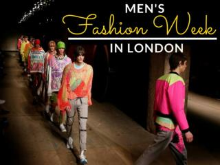 Men's Fashion Week in London