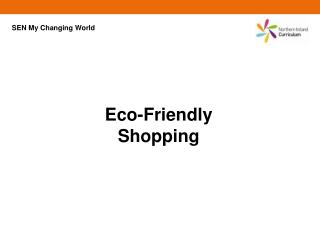Eco-Friendly Shopping