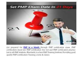 Get PMP Qualified By Preparing PMP in a Month