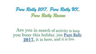 Car Racing Game Organization Pure rally 2015