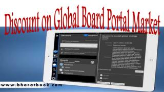 Discount on Global Board Portal Market