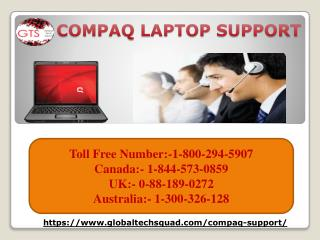 Compaq Computer support in USA