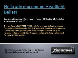 Hella xenon ballast | Hella D1S HID Ballast