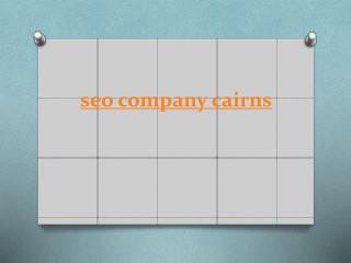 seo company cairns