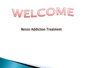 Benzo Addiction Treatment in USA