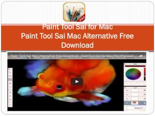 Paint Tool Sai Mac: Free Download Paint Tool Sai for Mac