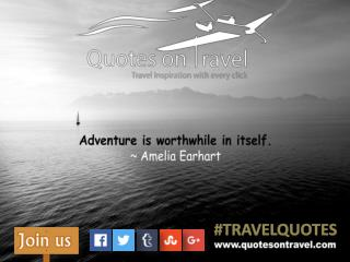 Famous Quotes On Travel by Amelia Earhart