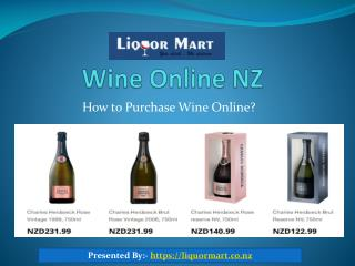How To Purchase Wine Online In NZ?
