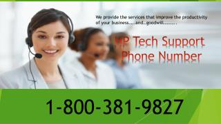 1-800-381-9827 HP Tech Support Phone Number