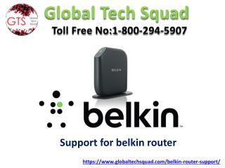 Online Belkin router Support Help Dial:US 1-800-294-5907