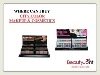 Where Can I Buy City Color Cosmetics