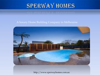 CHinese home builders Melbourne