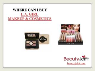 Where Can I Buy LA Girl Makeup & Cosmetics