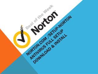 www.Norton.com/ setup | 1-888-504-2905 |Norton.com/setup