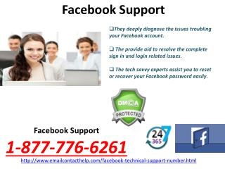 Contact Facebook Technical Support Number @1-877-776-6261 Number from Anywhere around the World