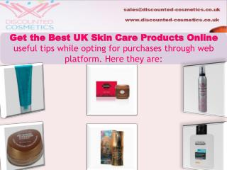 Tips to Buy Discount Cosmetics in UK