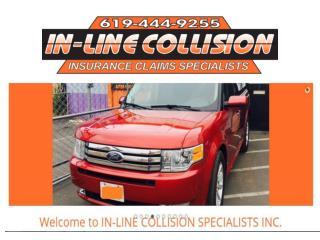 Auto collision repair Santee : Auto restoration La Mesa | inlinecollision.com