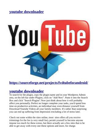 https://sourceforge.net/projects/fvdtubeforandroid/
