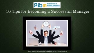 Tips to become successful manager