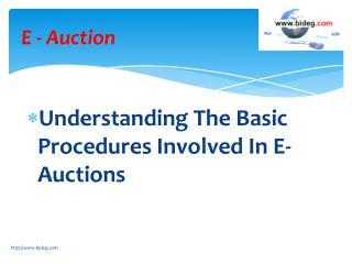 E-Auction Reverse Auction