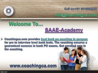 Coachingca Provides Best CAT Coaching in Gurgaon