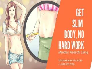 Reductil Weight Loss Tablets  | Meridia Diet Pills