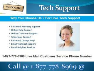 Livemail Technical ()18*7777/88969 (Customer) Support