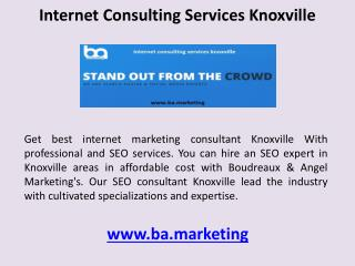 internet consulting services knoxville