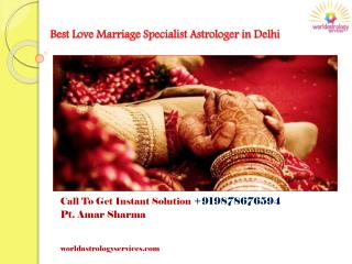 Get the Instant Solution with Famous Astrologer Pt. Amar Sharma