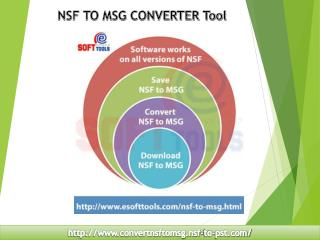 NSF to MSG Converter Tool