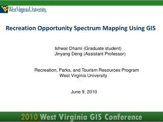 Recreation Opportunity Spectrum Mapping Using GIS
