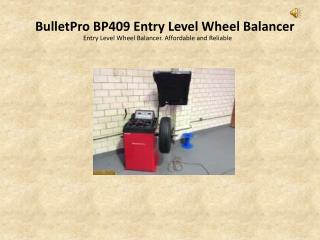 wheel balancer interequip