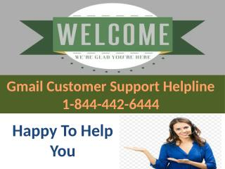 Recover Your Lost Gmail Account Instantly | Gmail Password Recovery Helpline Phone Number 1-844-442-6444 |