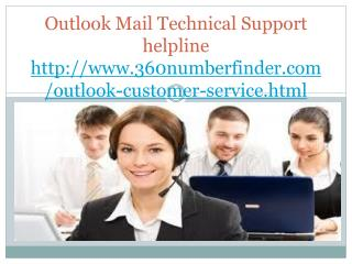 Outlook Customer Support Helpline