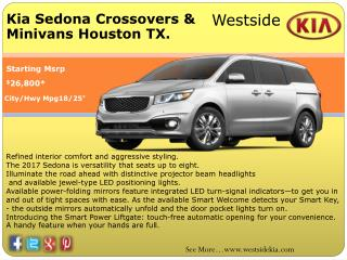 Kia Sedona Best Deal Price Of Houston TX. Kia Dealer