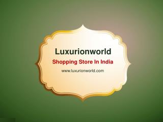 Latest Collection of Sarees From Luxurionworld