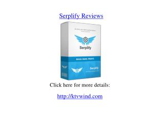 Serplify Reviews
