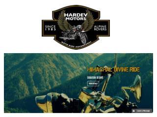 Motorcycle tours in Nepal | hardevmotors.com