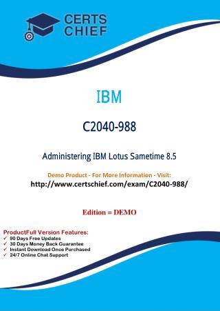 C2040-988 Latest Exam Training Material