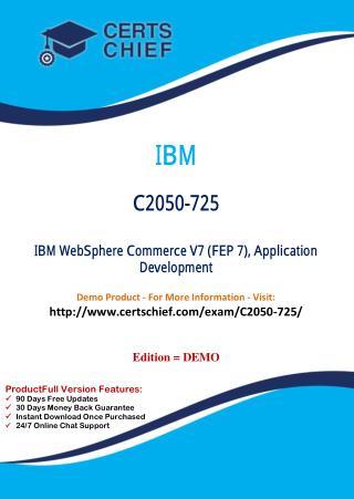 C2050-725 Latest Exam Training Material