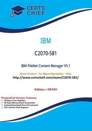 C2070-581 Latest Exam Training Material