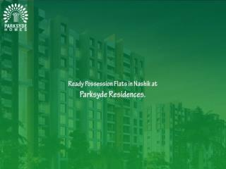 Ready Possession Flats in Nashik at Parksyde Residences