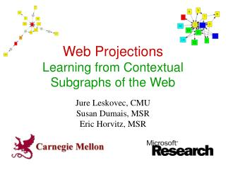 Web Projections Learning from Contextual Subgraphs of the Web