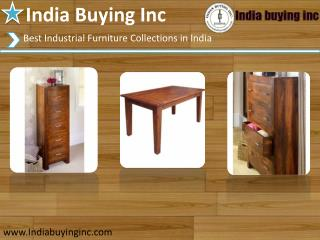 Make a beautiful your house with vintage Industrial furniture In India