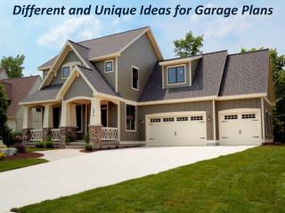 Behm Design Provides Unique Garage Plans
