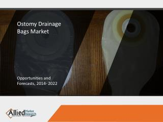 Ostomy Drainage Bags Market Expected to Reach $3,524 Million, Globally, by 2022